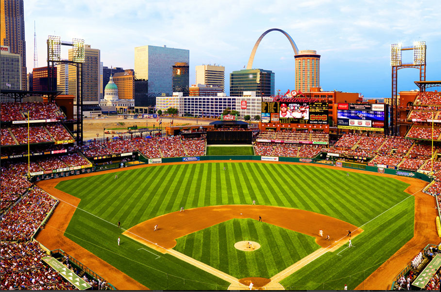 After golf in St. Louis, catch a baseball game at Busch Stadium, home of the Cardinals