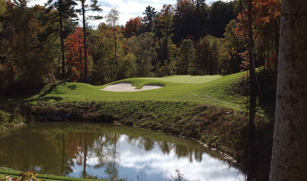 Copper creek golf club is a doug carrick design that plunges into the