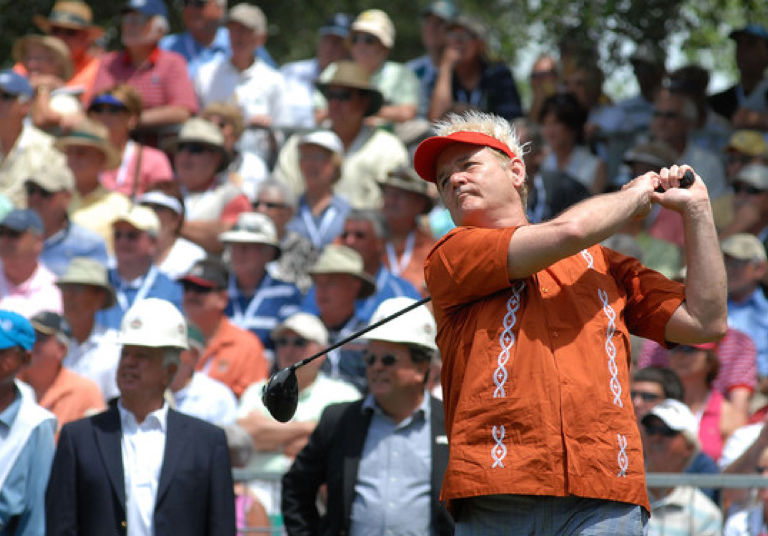 Bill Murray at the AT&T Pebble Beach National Pro-Am (Image: AT&T Pebble Beach)