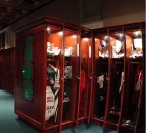 Member Locker Room, World Golf Hall of Fame (Image: World Golf Hall of Fame)