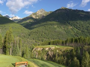 """Cliffhanger"" Par Three (Image: Greywolf Golf Course)"