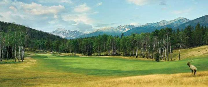Jasper Park Lodge Golf Course (Image: Fairmont Jasper Park Lodge)