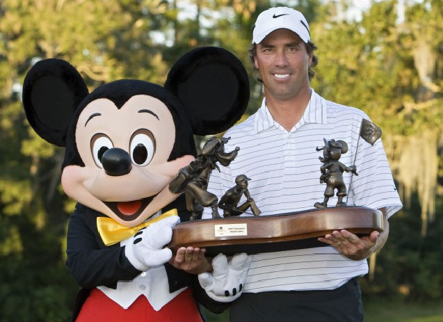 Disney PGA Tournament winner Stephen Ames