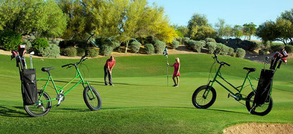 Kierland Golf Club bike golf program (Image: Westin Kierland Resort)