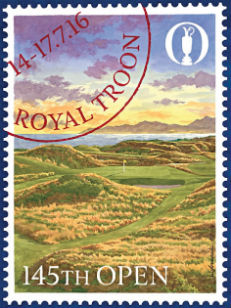 Royal Troon Open Championship poster