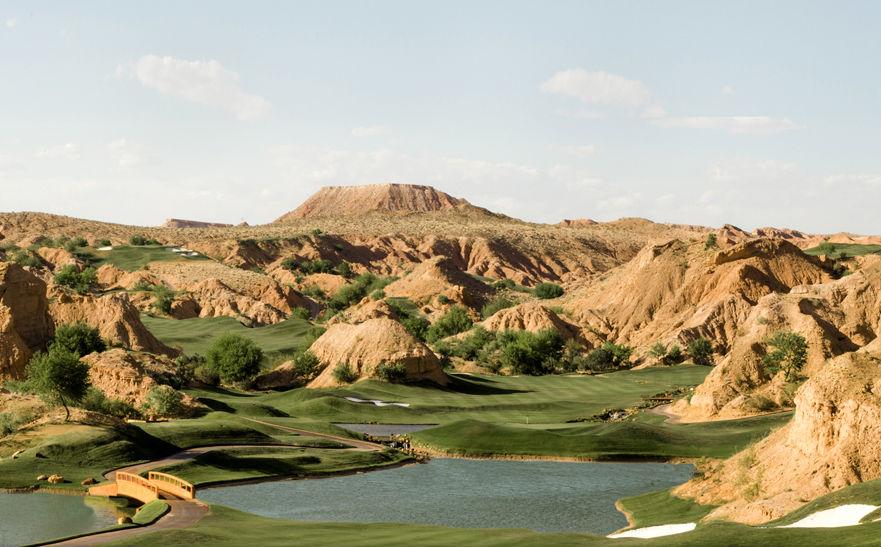 Wolf Creek Golf Club in Mesquite Nevada (Image: Wolf Creek Golf Club)