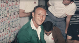 Arnold Palmer with Green Jacket (Image: Masters.com)